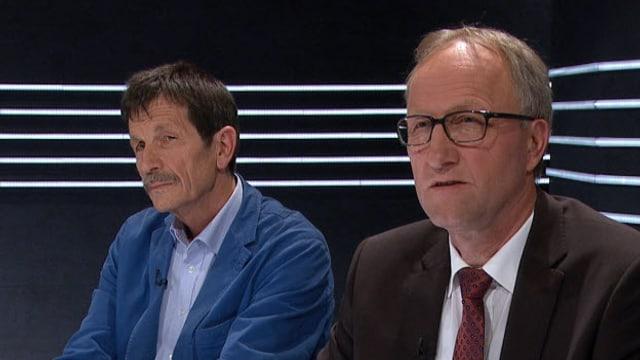Ueli Mäder und Peter Hegglin.