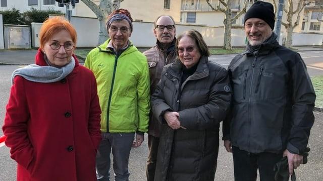 Fünf Anwohner