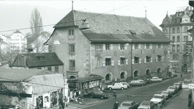 Historische Aufnahme von 1971