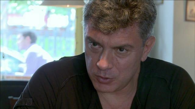 Porträt des ermordeten Politikers Boris Nemzow