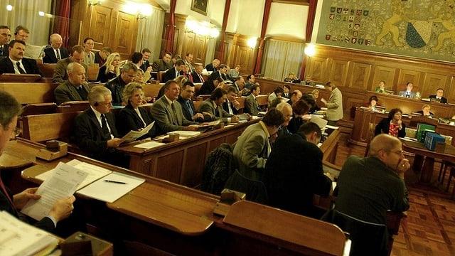 Der Gemeinderat tagt im Zürcher Rathaus.