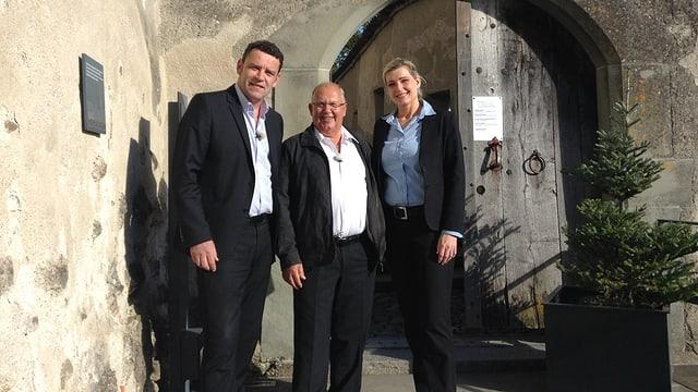 Video «Schaffhausen – Tag 5 – Burg Hohenklingen (Siegerbeiz)» abspielen