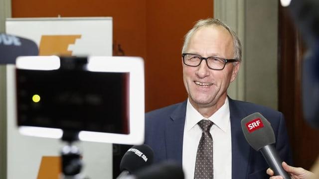 Peter Hegglin, Zuger CVP-Ständerat.