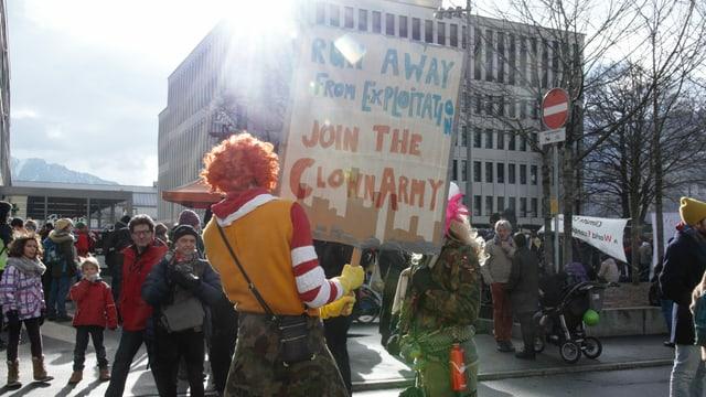 Protesta per il clima.