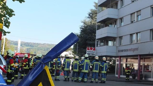 Feuerwehrleute des Atemschutzes