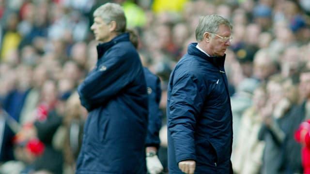 Wenger und Ferguson.