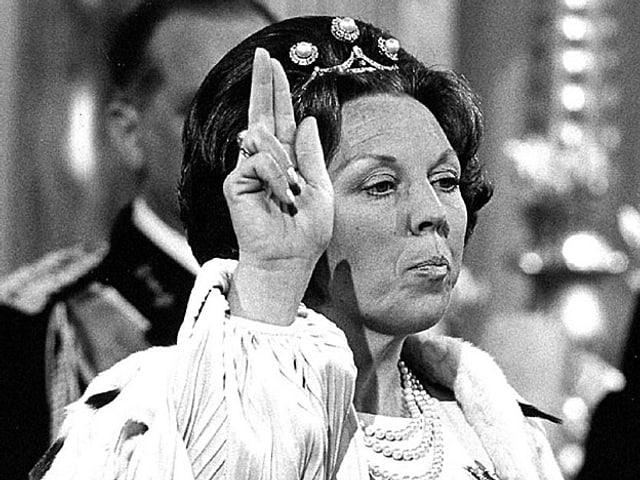 Die schwörende Königin Beatrix