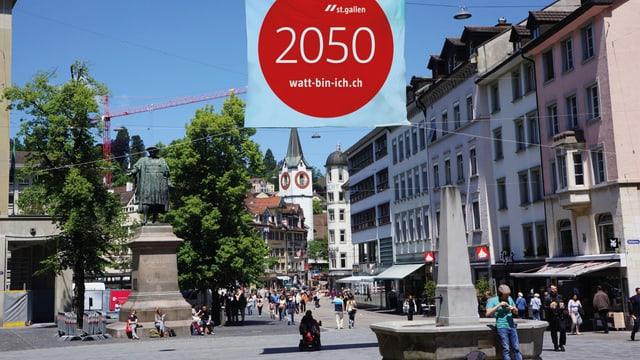 Vadiandenkmal in St. Gallen
