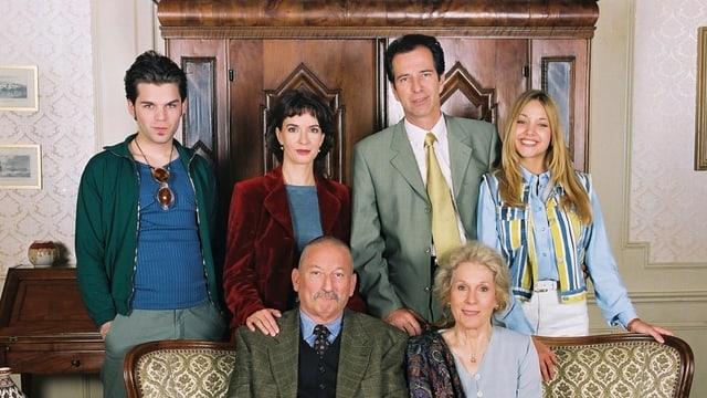Bild der Familie Blanc