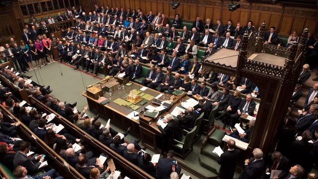 Il parlament britannic.