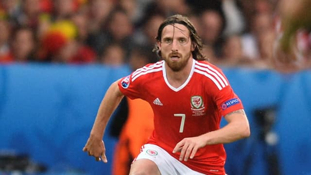 Joe Allen in Aktion.