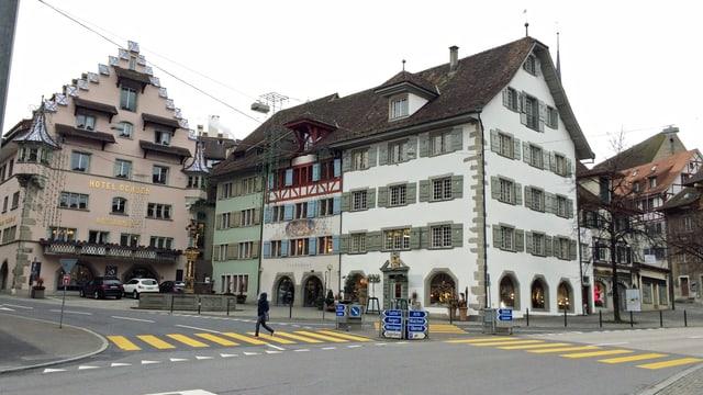 Das Stadthaus von Zug von aussen.