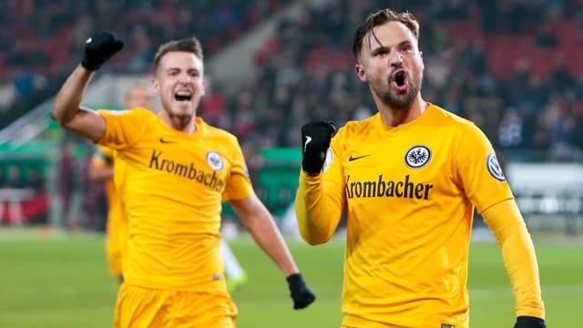 Frankfurts Siegtorschütze Haris Seferovic.