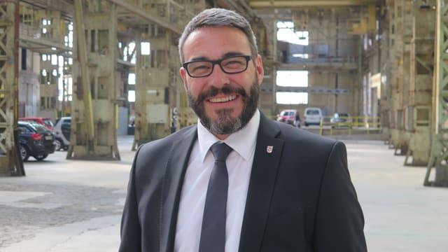Portrait des SVP-Stadtrats Josef Lisibach