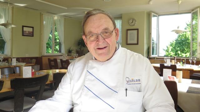 Ernst Bachmann, Wirt im Restaurant Muggenbühl und Präsident von Gastro Zürich.