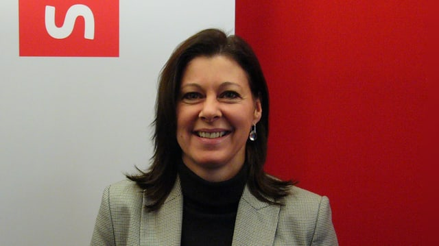 Portraitbild von Parteipräsidentin Christine Pezetta