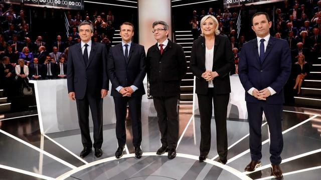 Politichers franzos.