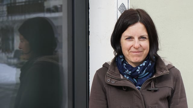 Monika Battaglia da Savognin.