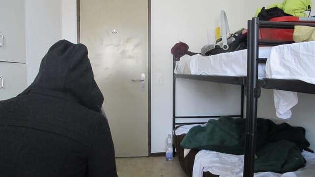 Zimmer in Asylunterkunft