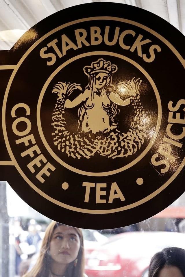 Die erste Starbucks-Fialiale öffnete in Seattle. Damals sah auch das Logo anders aus.