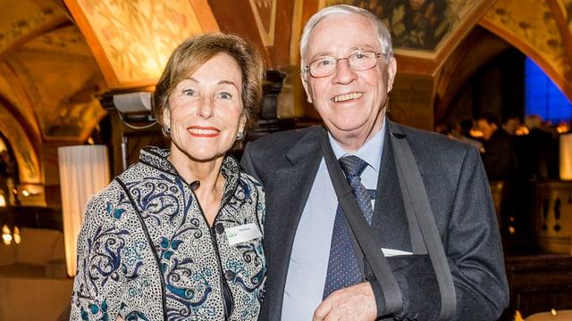 Silvia e Christoph Blocher