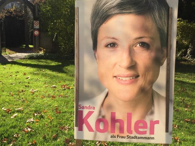 Plakat von Sandra Kohler