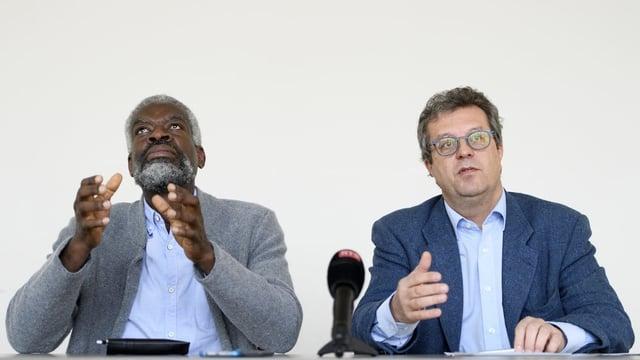 Michel Agnant und Jerôme Christen