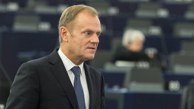 Donald Tusk, il president dal cussegl da l'Uniun europeica.