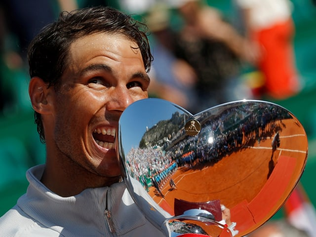 Rafal Nadal regiert in Monte Carlo weiter.