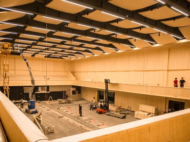 Baustelle Konzerthalle Maagareal
