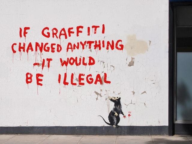 «Wenn Graffiti etwas ändern könnte, dann wäre es verboten».