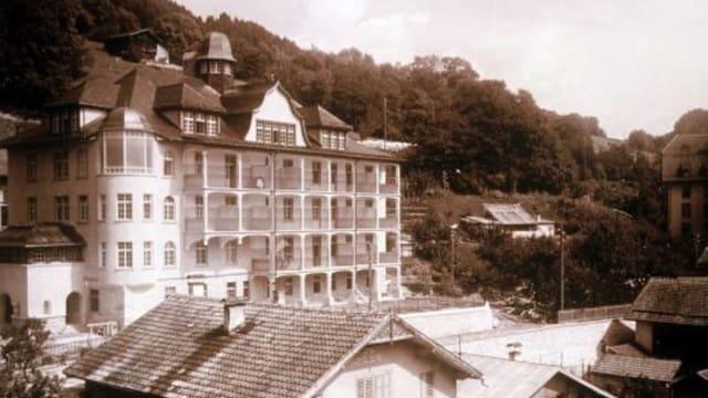 L'ospital Son Niclà a Glion, avert l'onn 1913.