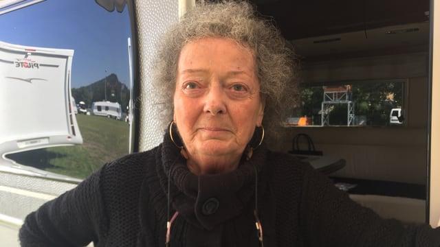 Maria Mehr gründete vor über 30 Jahren das fahrende Zigeuner-Kulturzentrum der Schweiz.