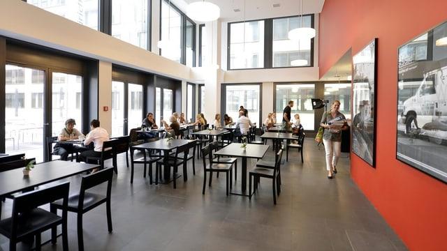 Caféteria der Pädagogischen Hochschule (PH) Zürich: Hier sollen vermehrt auch Quereinsteiger anzutreffen sein.
