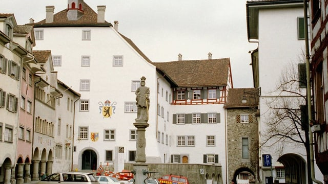 Blick in die Wiler Altstadt