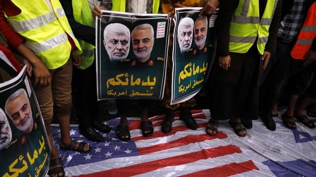 Cun il mazzament da general Qassem Soleimani entras ils Stadis Unids da l'America è il livel d'escalaziun creschì.