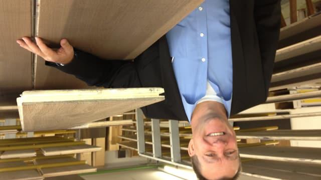 Stefan Krummenacher, CEO der Belcolor AG in St. Gallen, freut sich über die guten Geschäfte in China.