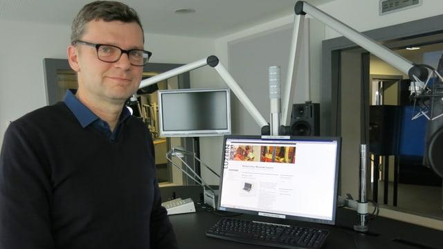 Museumdirektor Christoph Lichtin