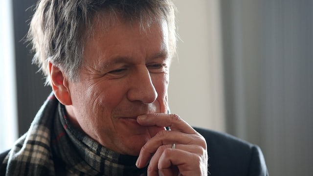 Jörg Kachelmann en la sala da dretgira a Cologna il favrer da quest onn.