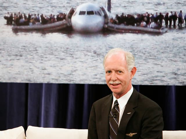 Captain Chesley «Sully» Sullenberger.