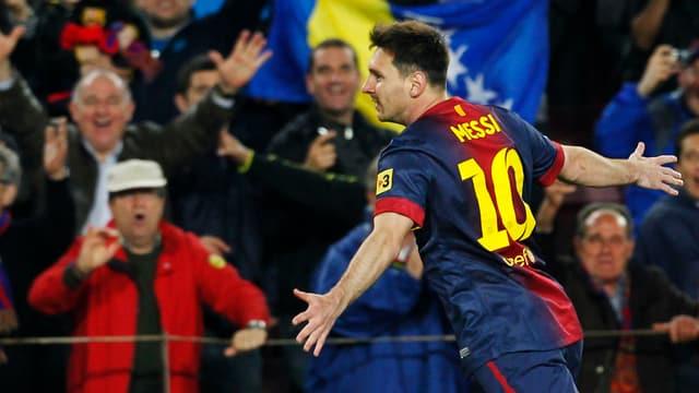 Messi schoss Barça einmal mehr zum Sieg.