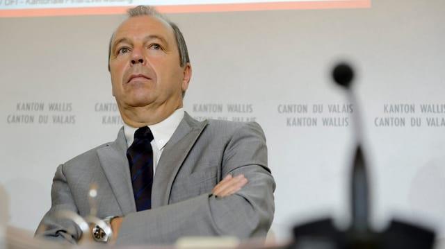 Staatsrat Maurice Tornay