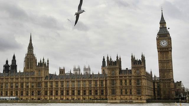 Britisches Parlament in London