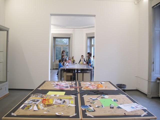Atelier-Platz mit Jugendlichen