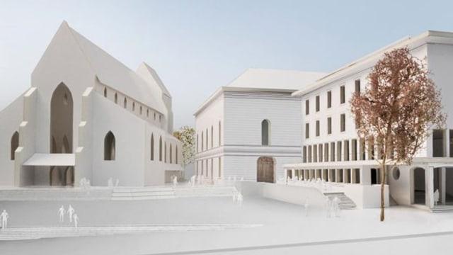 Stadtcasino mit geplantem Anbau