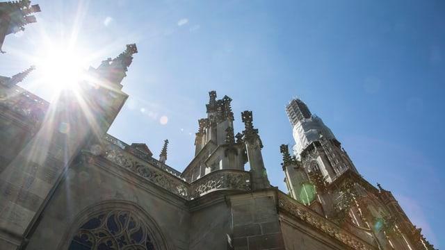 Berner Münster: der kleinen Kirchgemeinde fehlt es an Geld für die Organisation von Veranstaltungen.