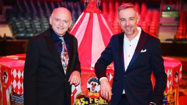 Rolf Knie und Daniel Fohrler