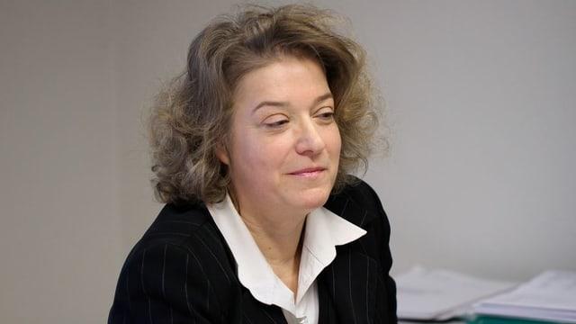 Die Erste Baselbieter Staatsanwältin Angela Weirich