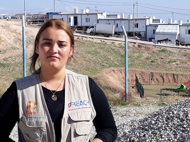 Alifa im Flüchtlingslager