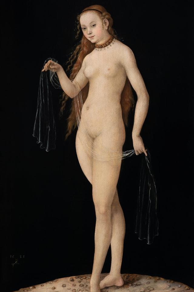 «Venus» von Renaissancemaler Lucas Cranach.